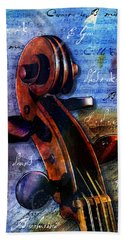 Cello Masters Beach Towel by Gary Bodnar