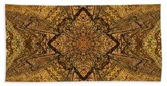 Celtic Mandala Abstract Beach Sheet