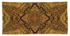 Celtic Mandala Abstract Beach Towel