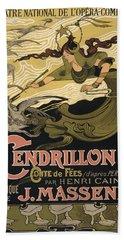 Cendrillon Poster 1899 Beach Sheet