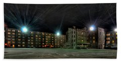 Central Area At Night Beach Towel