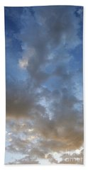 Central Coast Clouds 1 Beach Towel by Michael Rock