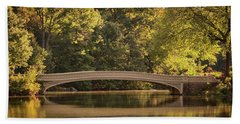 Central Park Bridge Beach Sheet