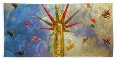 Centre Of The Universe Beach Towel by LemonArt Photography