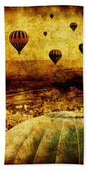 Cerebral Hemisphere Beach Towel