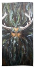 Cernunnos Beach Towel