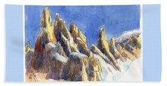 Cerro Torre, Patagonia Beach Sheet