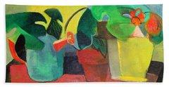 Cezanne Potting Stand Beach Sheet