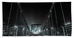 Chain Bridge Beach Towel
