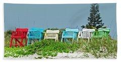 Chairs Beach Sheet