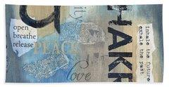 Chakra Beach Towel