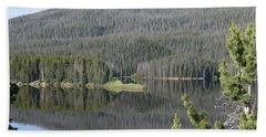 Chambers Lake Hwy 14 Co Beach Towel