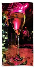 Champagne And Jazz Beach Towel