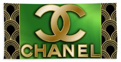 Chanel - Chuck Staley Beach Towel by Chuck Staley