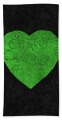 Chanel Heart-5 Beach Towel