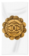 Chanel Jewelry-2 Beach Towel