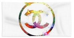 Chanel Logo Beach Sheet
