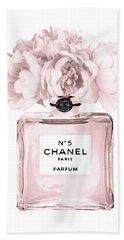 Chanel N.5 Perfume 9 Beach Towel