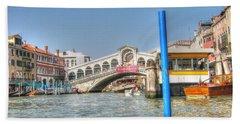 Channels Venice Beach Sheet by Yury Bashkin