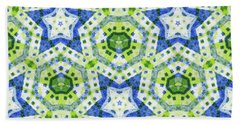 Chaos In Stars Beach Towel