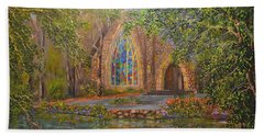 Chapel At Callaway Beach Towel