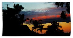 Chapel Hill Afternoon Beach Towel