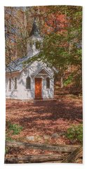 Chapel In Woods At Red Mill 3 Beach Towel