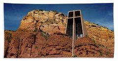 Chapel Of The Holy Cross Beach Sheet