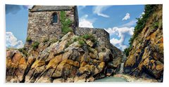 Chapel Saint-aubert Beach Towel