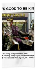 Chapter 7 It's Good To Be King Beach Towel by Joe  Palermo