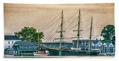 Charles W. Morgan #1 Beach Towel