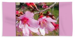 Charleston Azalea Beach Towel