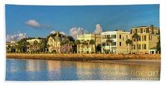 Charleston Battery Row Of Homes  Beach Towel