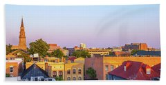 Beach Towel featuring the photograph Charleston Glows by Donnie Whitaker