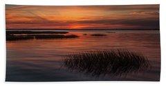 Charleston Lowcountry At Dusk Beach Sheet