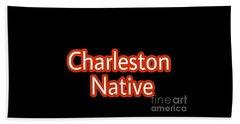 Charleston Native Text 2 Beach Towel