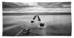 Charleston Sc Folly Beach Seascape Photography Beach Sheet