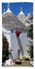 Charming Trulli Beach Sheet