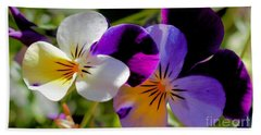 Charming Viola 2 Beach Towel