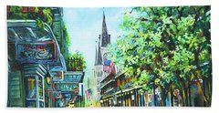 Chartres Afternoon Beach Towel