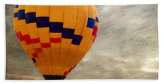 Chasing Hot Air Balloons Beach Towel