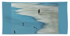 Chasing Shadows  Beach Towel