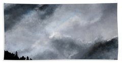 Chasing The Storm Beach Towel
