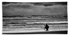 Chasing Tide And Light Beach Towel