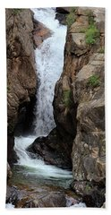 Beach Towel featuring the photograph Chasm Falls 2 - Panorama by Shane Bechler