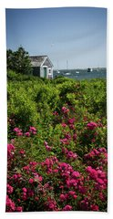 Chatham Boathouse Beach Towel by Jim Gillen