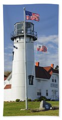 Chatham Lighthouse I Beach Towel