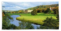Chatsworth House View Beach Towel