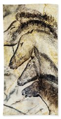 Chauvet Horses Beach Towel