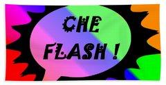 Che Flash Beach Towel